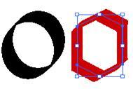 Рисунок 2 9 – создания контура шрифта